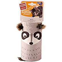Gigwi Melody Chaser Tube Racoon Cat Toy