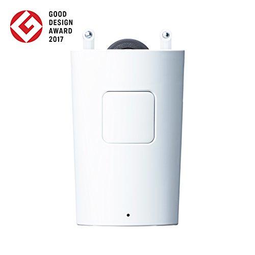 ロビット(Robit) めざましカーテン mornin' MN-C01 ホワイト 2017年度グッドデザイン賞受賞