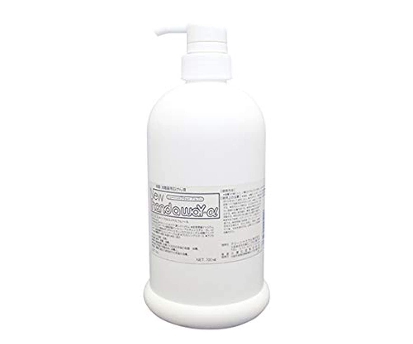 一杯マイクロプロセッサワゴン薬用石けん液 ニューハンドアウェイα ボトルタイプ 700mL