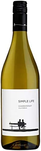 Simple Life California Chardonnay White Wine, 750ml