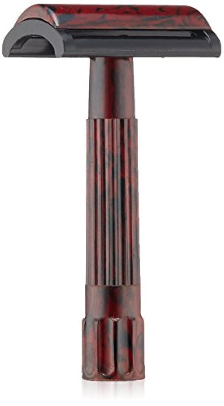 一握り比較的昆虫MERKUR Solingen - Travel pack, Bakelite safety razor and 10 blades, 9045030