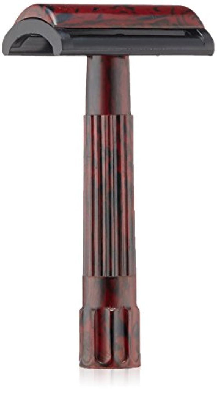 海里しっとり首謀者MERKUR Solingen - Travel pack, Bakelite safety razor and 10 blades, 9045030