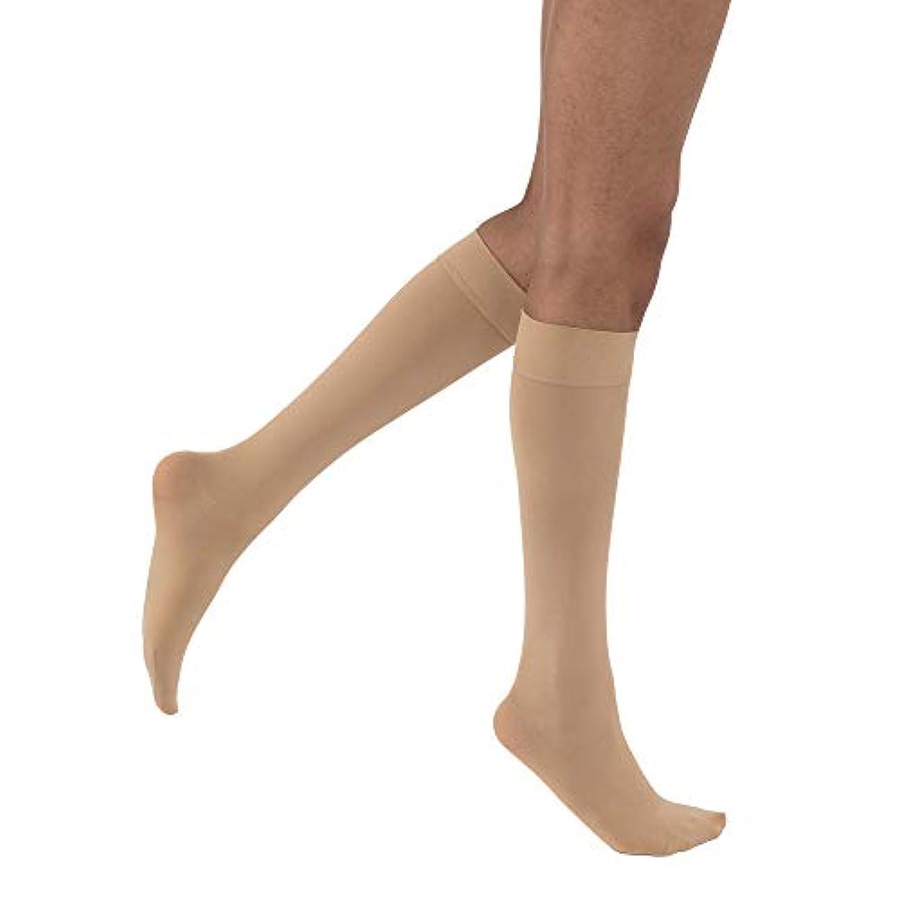 息苦しい免除する中絶Jobst 115212 Opaque Knee Highs 15-20 mmHg - Size & Color- Natural Small