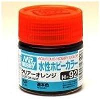 まとめ買い!! 6個セット「水性ホビーカラー クリア-オレンジ H92」