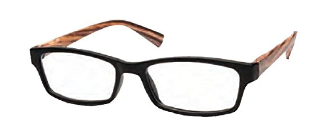 ニコット(Nicott) RESA リーディンググラス ブラウン 本体幅 14.5cm 高さ 3.8cm テンプル長さ 15cm 度数+1.50 KANDY ANRS-02-2A
