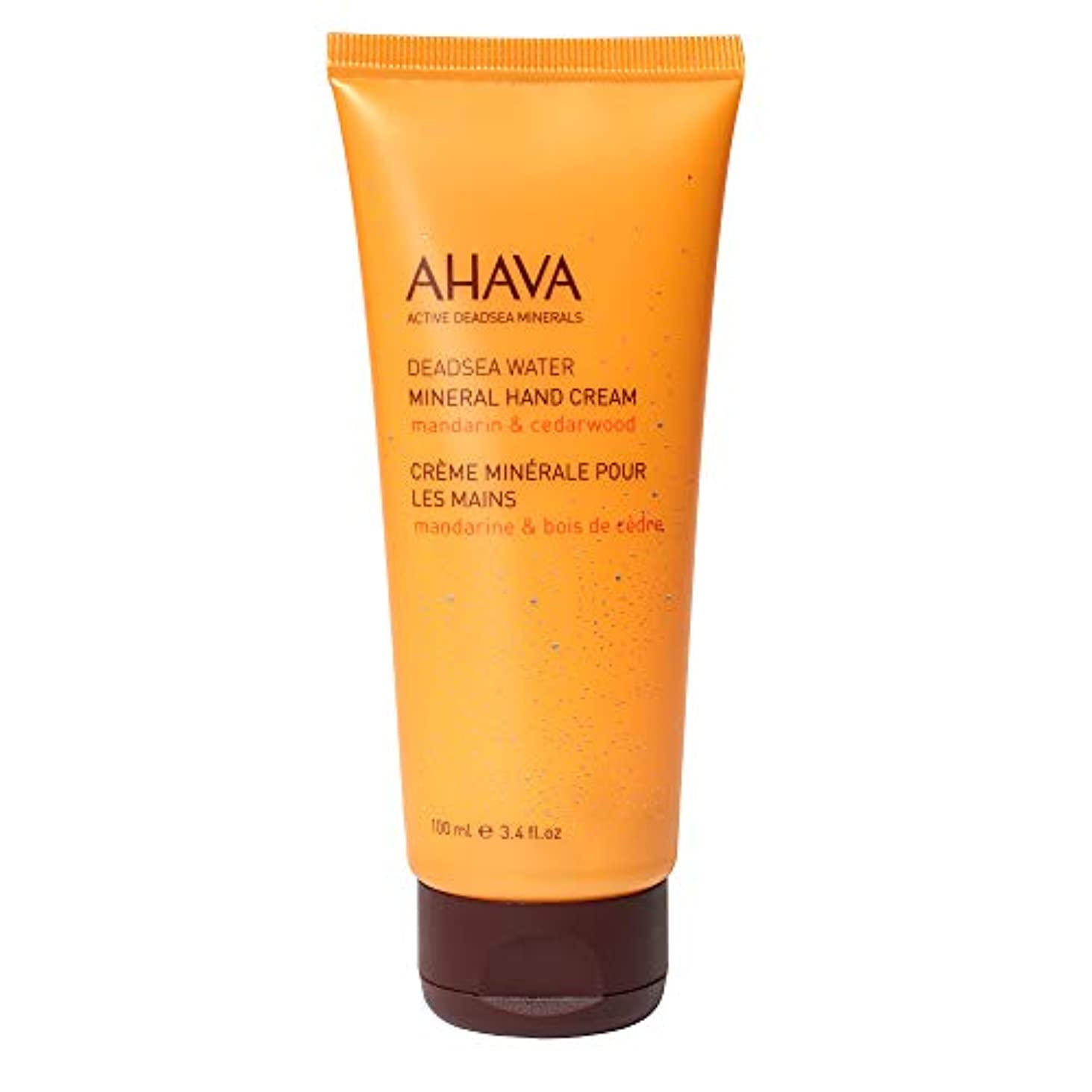 ブラシ強いますオールAHAVA - Deadsea Water Mineral Hand Cream Mandarin and Cedarwood