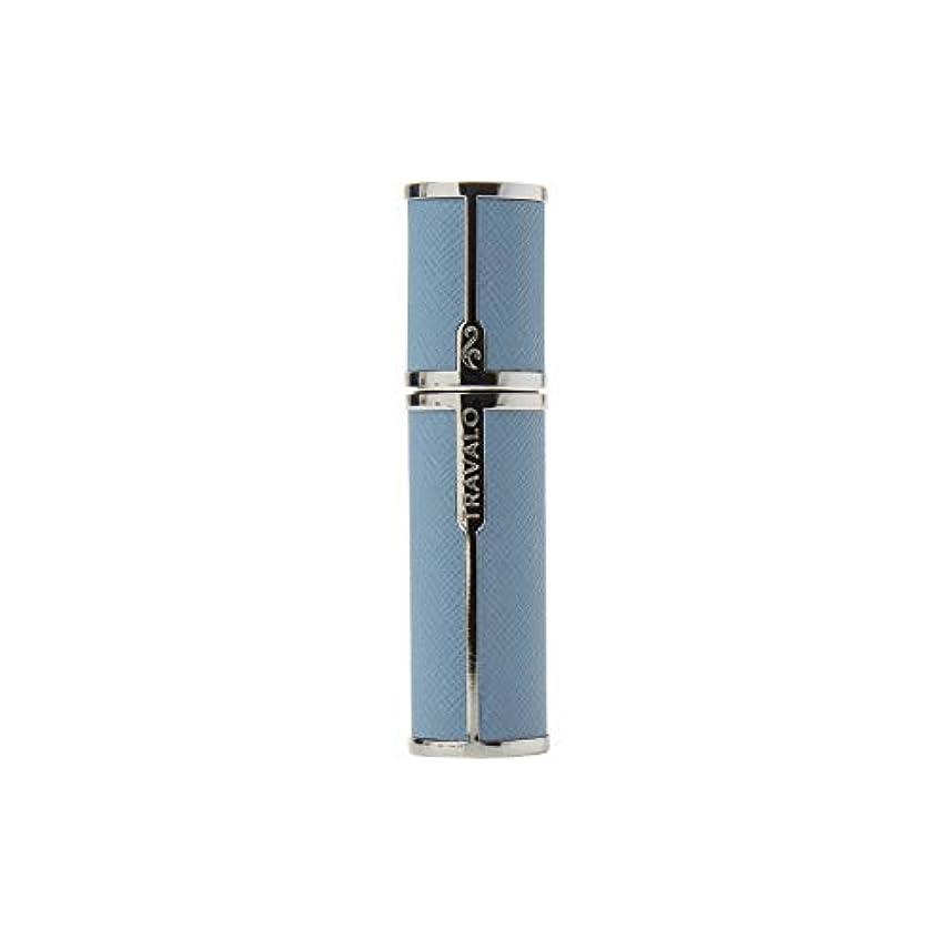 鳩自分のために顔料TRAVALO (トラヴァ―ロ) ミラノ アトマイザー ライトブルー 香水 旅行 携帯 詰め替え ボトル 簡単 香水スプレー