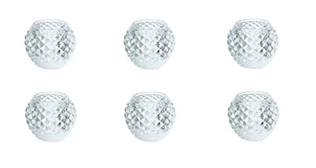 こっそりコントラスト共感するカメヤマキャンドルハウス ダイヤモンドボール J5300000 6個入り
