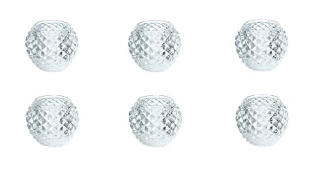 アレルギー聖なる海上カメヤマキャンドルハウス ダイヤモンドボール J5300000 6個入り