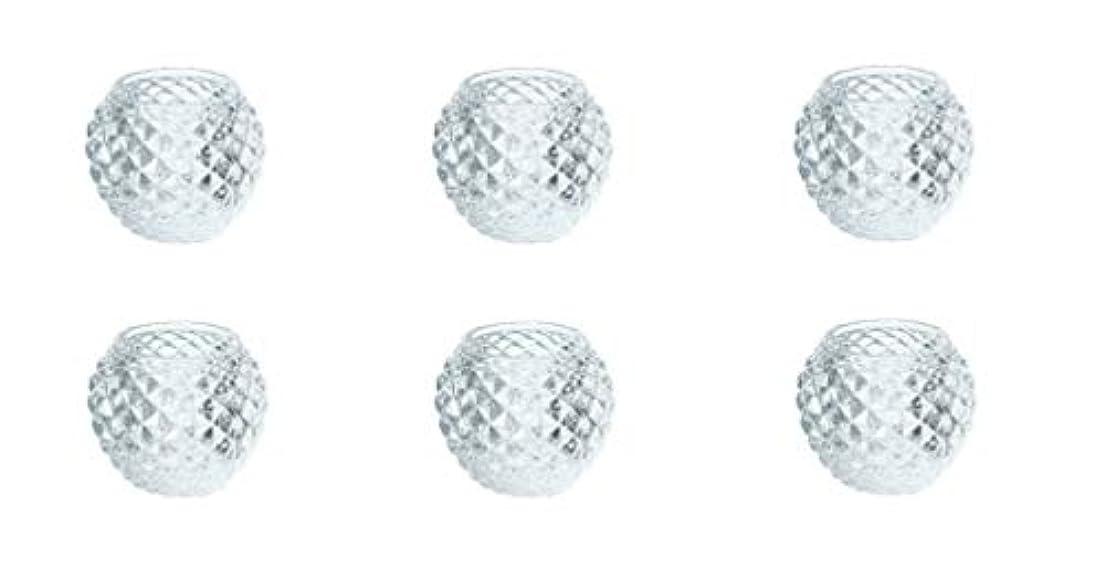 パン屋熟した悪名高いカメヤマキャンドルハウス ダイヤモンドボール J5300000 6個入り