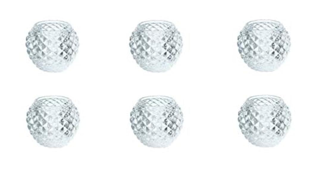 貢献施し期間カメヤマキャンドルハウス ダイヤモンドボール J5300000 6個入り