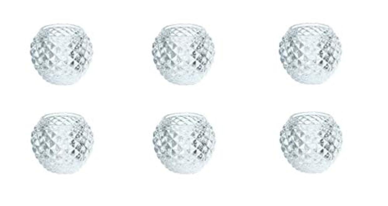 季節ポータル者カメヤマキャンドルハウス ダイヤモンドボール J5300000 6個入り