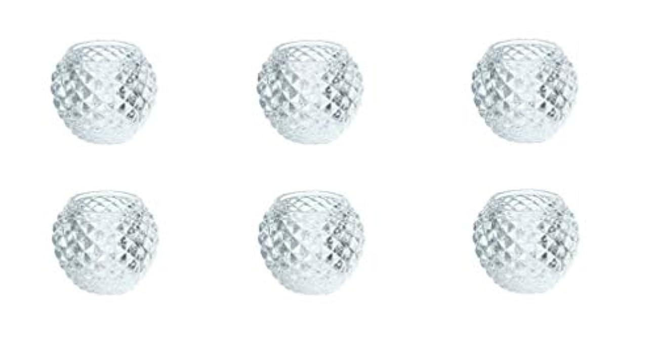 状態回転させる電圧カメヤマキャンドルハウス ダイヤモンドボール J5300000 6個入り