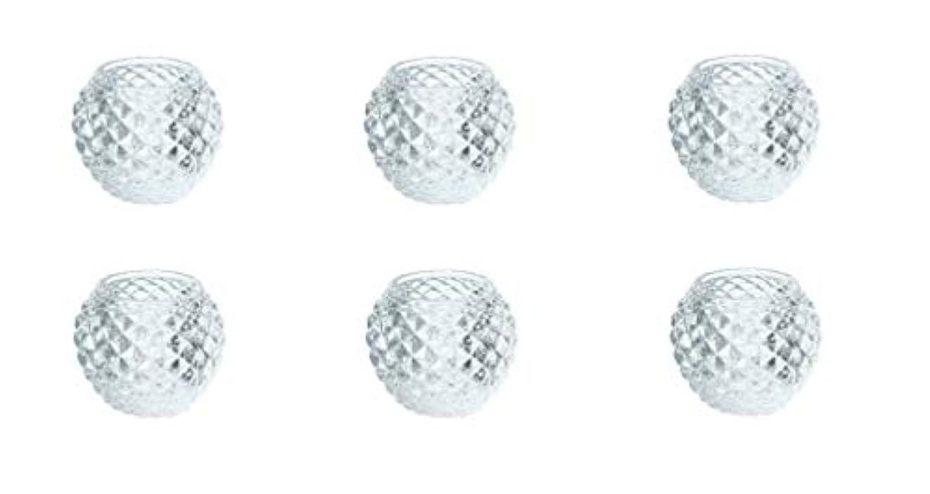 とエスカレートリアルカメヤマキャンドルハウス ダイヤモンドボール J5300000 6個入り