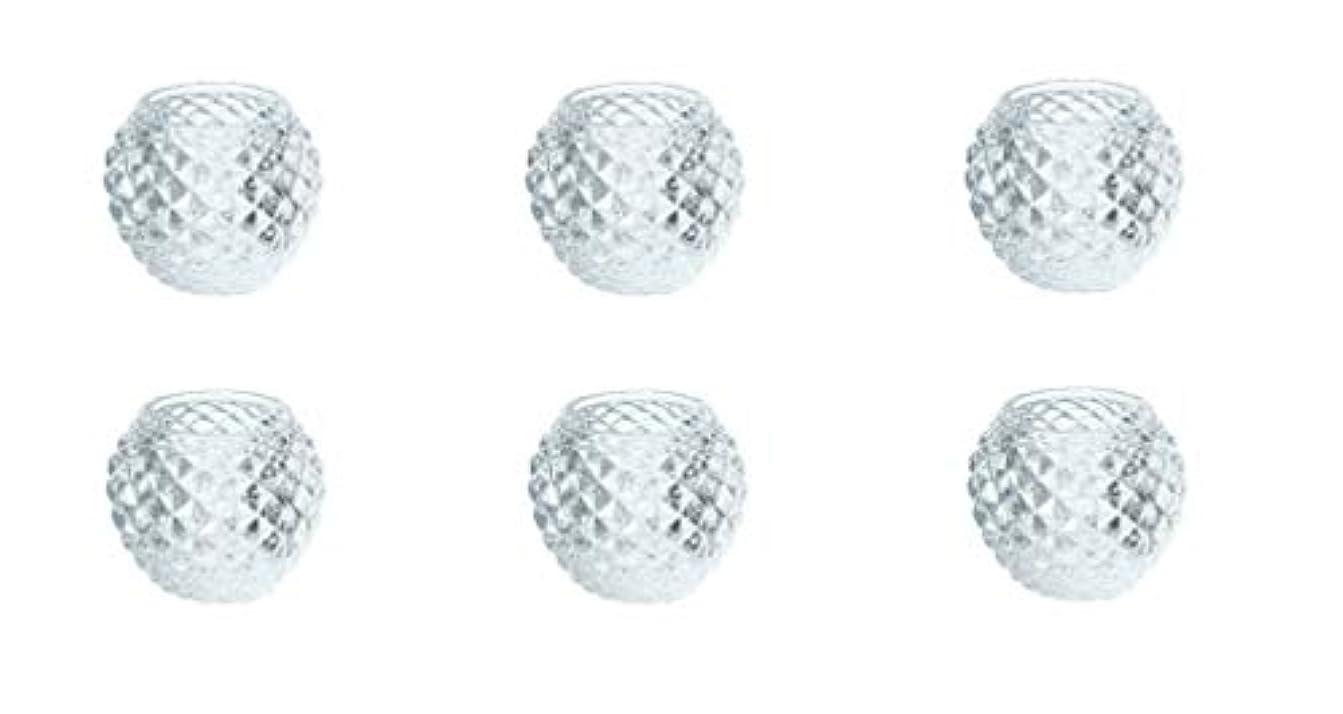 前件空いている台風カメヤマキャンドルハウス ダイヤモンドボール J5300000 6個入り