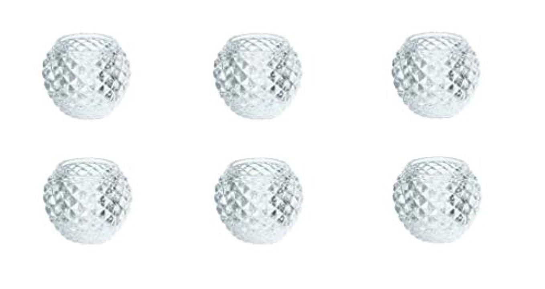 スクリーチパン四カメヤマキャンドルハウス ダイヤモンドボール J5300000 6個入り