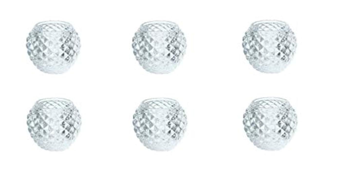 ミシン目夕食を作るどうしたのカメヤマキャンドルハウス ダイヤモンドボール J5300000 6個入り