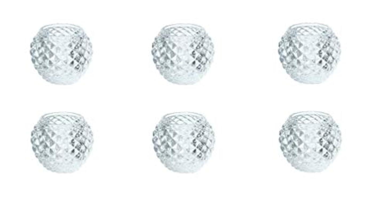 テンポ起きる牛カメヤマキャンドルハウス ダイヤモンドボール J5300000 6個入り