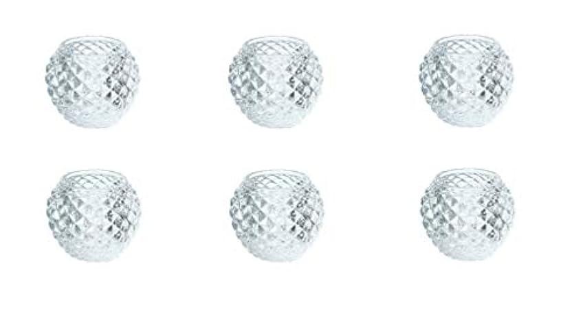 食堂評論家いまカメヤマキャンドルハウス ダイヤモンドボール J5300000 6個入り