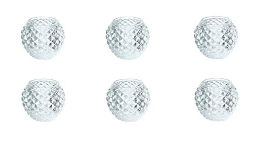 カメヤマキャンドルハウス ダイヤモンドボール J5300000 6個入り