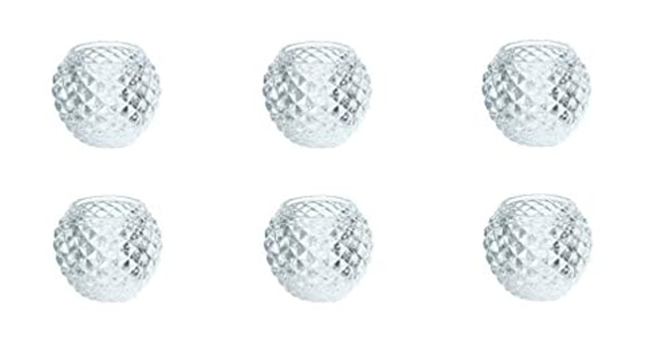教えてシーケンス伴うカメヤマキャンドルハウス ダイヤモンドボール J5300000 6個入り