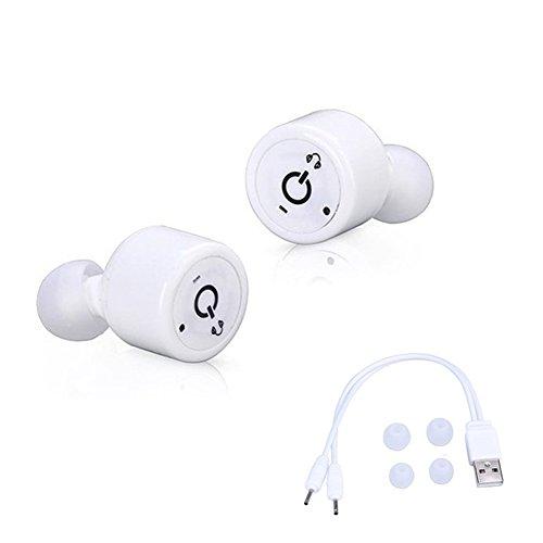 Xlp イヤフォン インイヤーヘッドセットイヤホンイヤフォン Invisible Wireless Mini True True Bluetooth 4.2 Twins