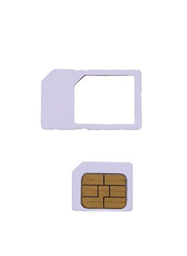 iOS6対応 ソフトバンク専用 iPhone アクティベート カード iPhone 4  4S 全 iOS 対応 6.1.2 確認済 MS オリジナル商品 ( Nano SIM にカットすれば、iPhone5 にも使用可能)