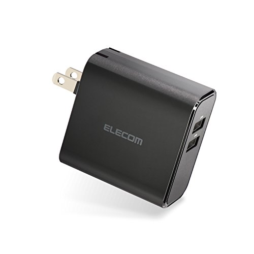 エレコム 充電器 USB急速充電 2ポート 最大出力4.8A...