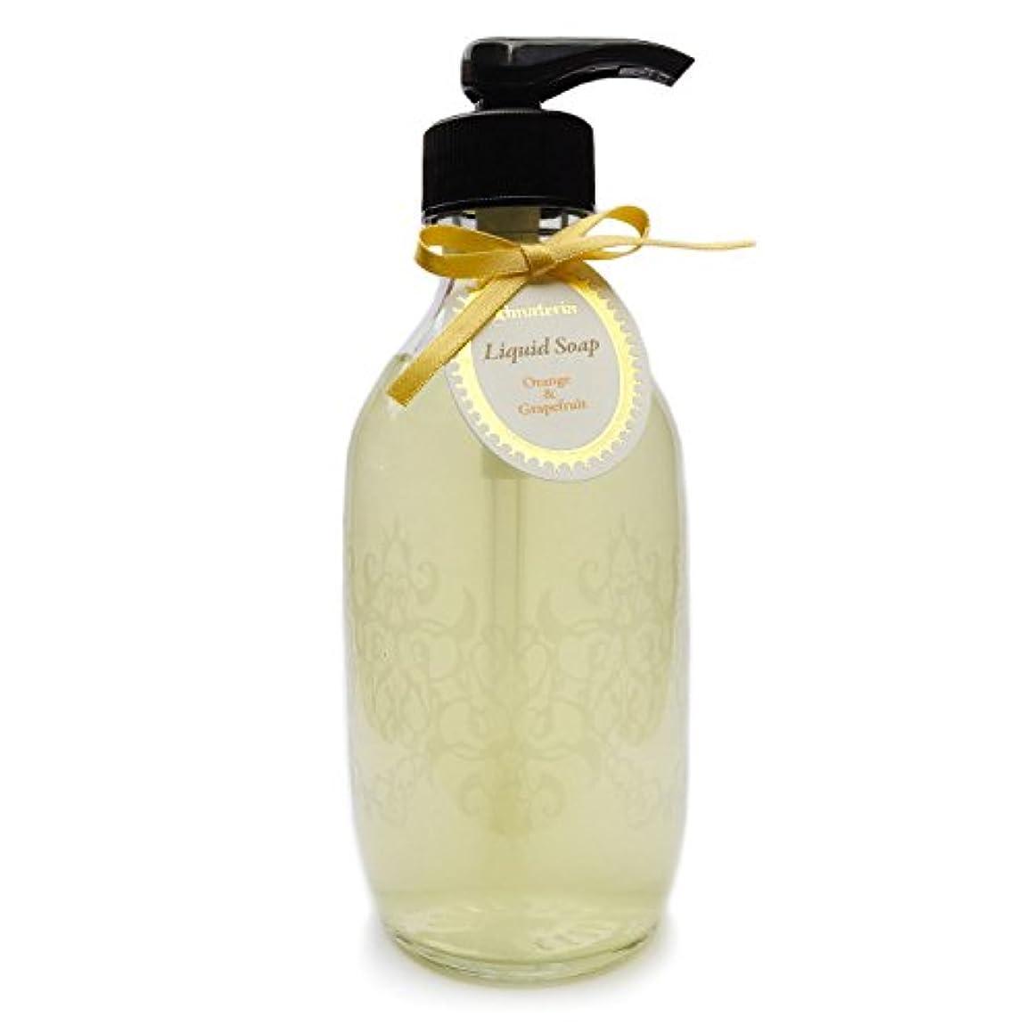 ワックス報告書モザイクD materia リキッドソープ オレンジ&グレープフルーツ Orange&Grapefruit Liquid Soap ディーマテリア