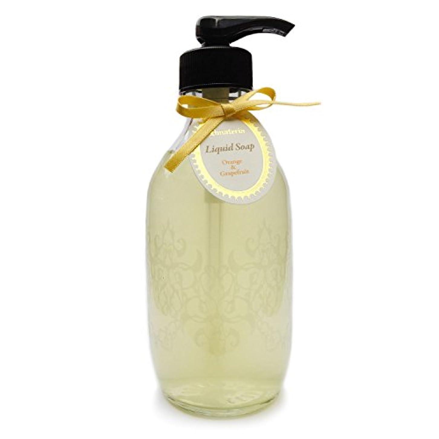 タンカーインポート発音D materia リキッドソープ オレンジ&グレープフルーツ Orange&Grapefruit Liquid Soap ディーマテリア