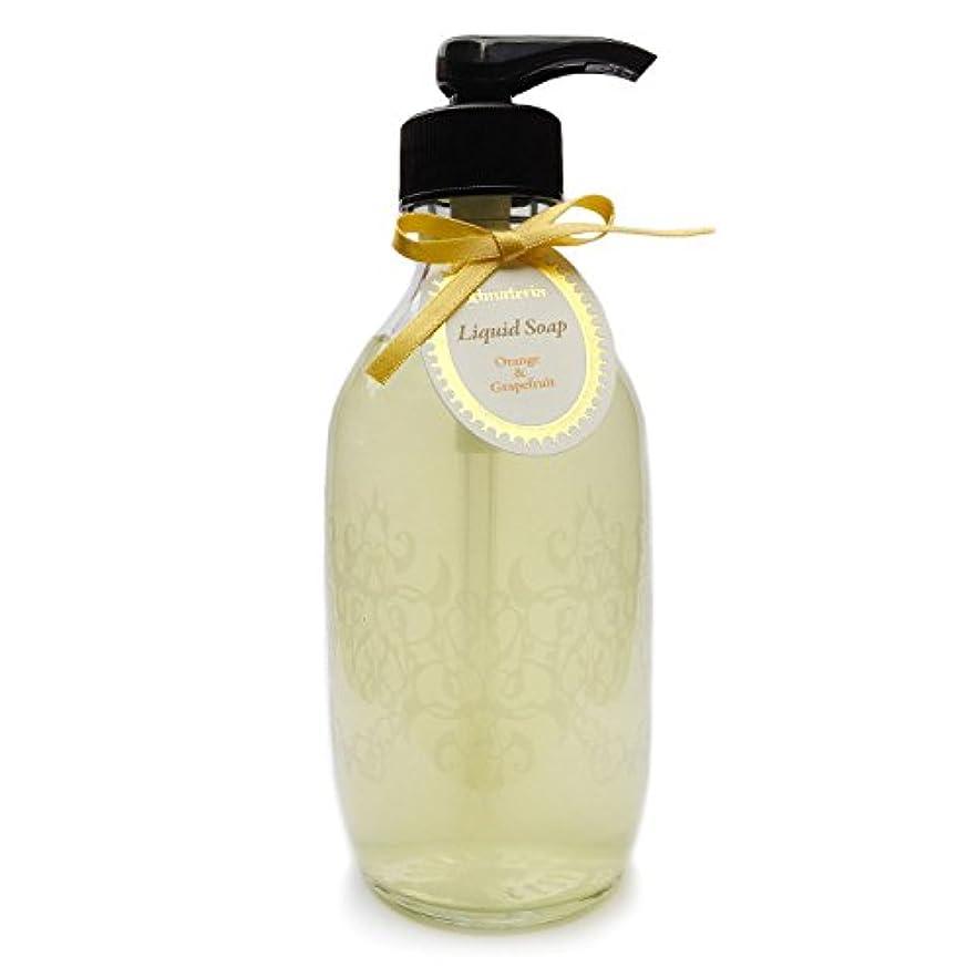 尊敬印象的なためにD materia リキッドソープ オレンジ&グレープフルーツ Orange&Grapefruit Liquid Soap ディーマテリア
