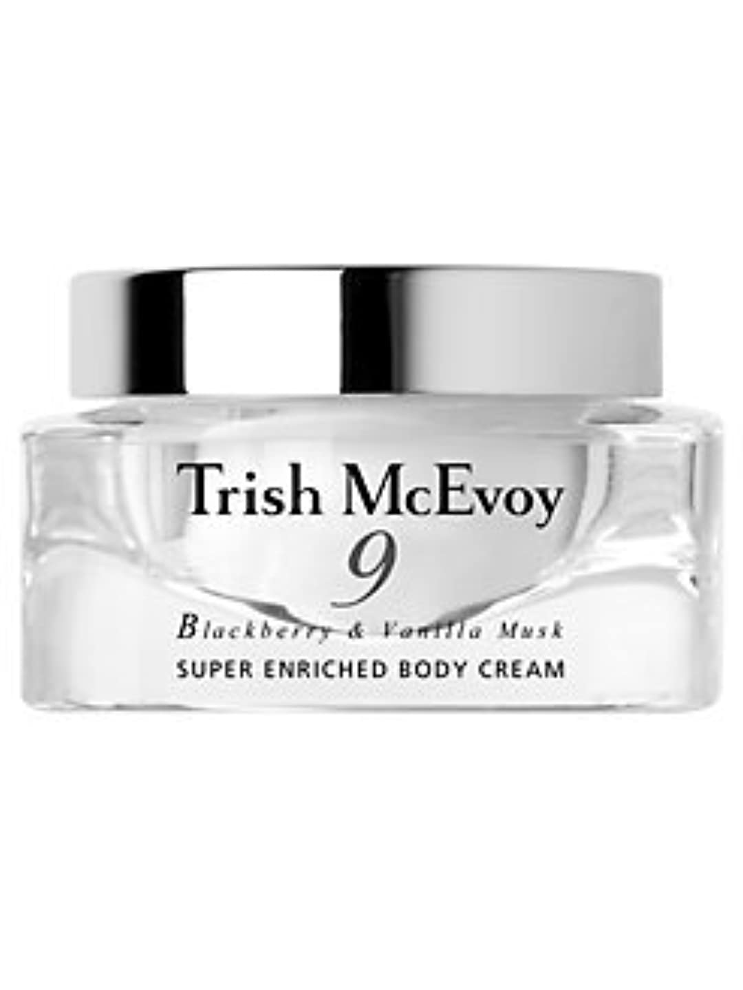 No.9 Blackberry & Vanilla Musk (No.9 ブラックべリー&バニラ ムスク) 3.5 oz (105ml) Body Cream by Trish McEvoy