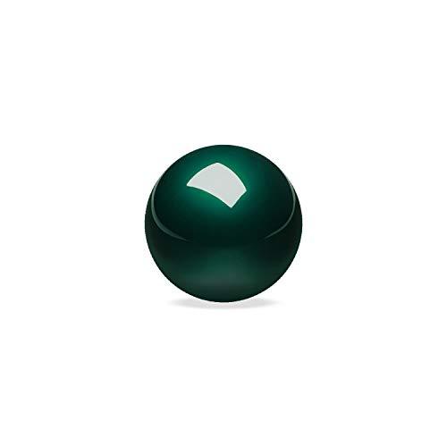ぺリックス PERIPRO-303 GN 34 mm交換用トラックボール 光沢仕上げ グリーン スピード型 PERIMICE-517/717またはロジクール/エレコムトラックボールマウスと互換性有り【正規保証品】