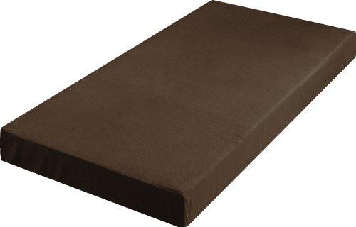 ottostyle.jp 低反発マットレス 15cm厚 シングル 【ブラウン】 幅97cm 耐圧分散で理想の寝姿勢 高密度ウレタンフォーム