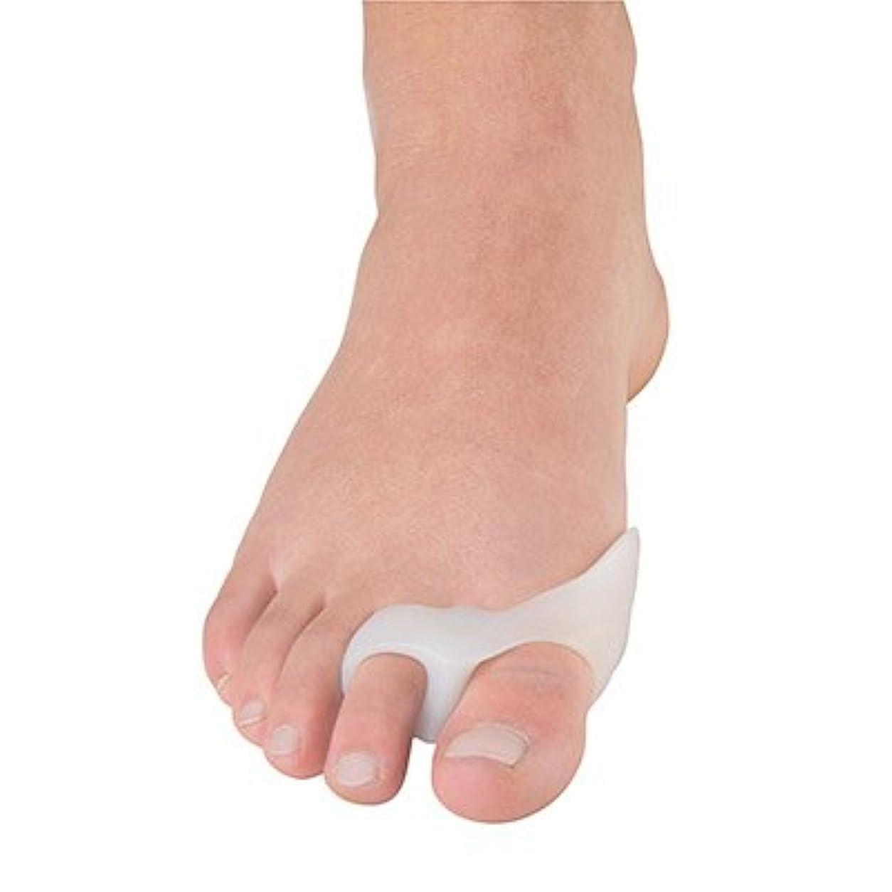 流暢十分なスパン外反母趾用足指バニオンガード?2ループ(P1038)(フリーサイズ)