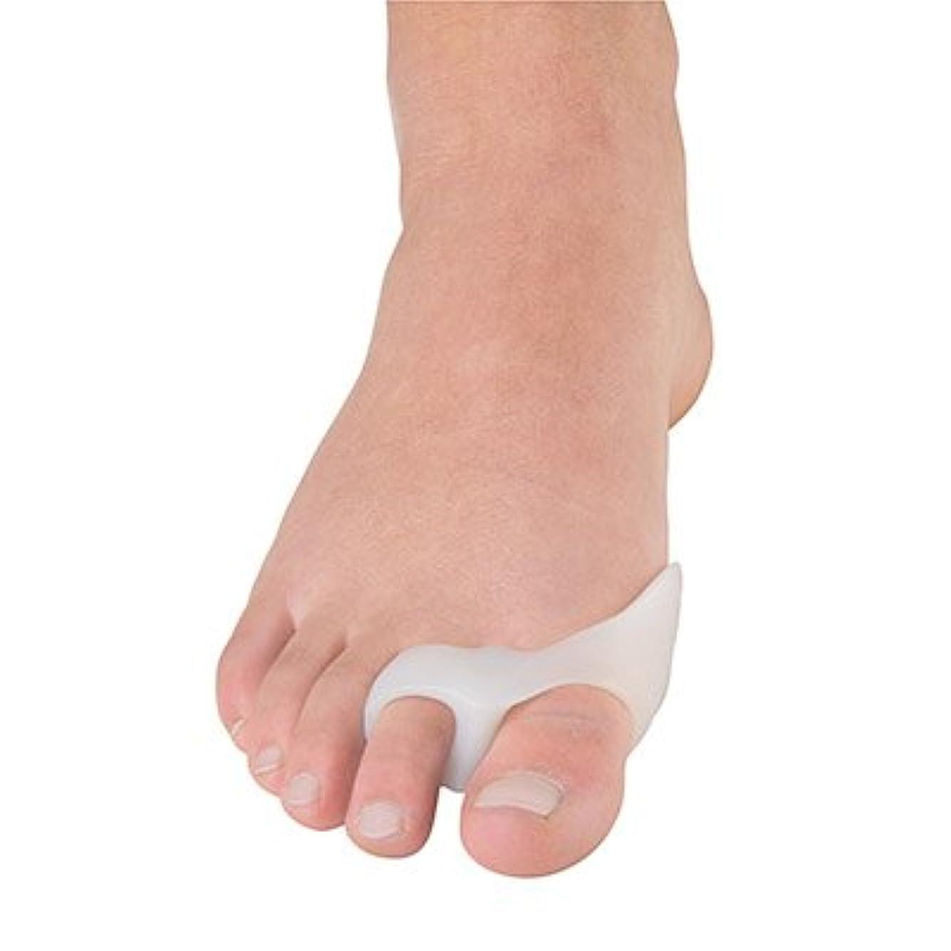 色偏見交渉する外反母趾用足指バニオンガード?2ループ(P1038)(フリーサイズ)