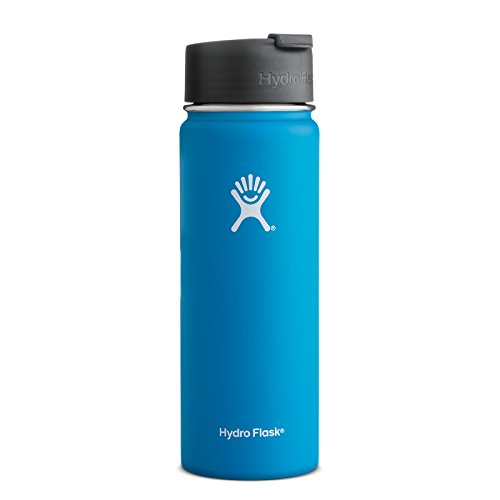 RoomClip商品情報 - Hydro Flask ハイドロフラスコ Stainless Steel Water Bottle Wide Mouth w/Flip Cap [並行輸入品] (Pacific, 20-Ounce(591ml))