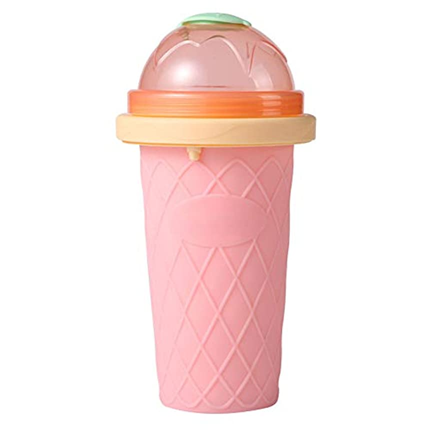 セールばかアイスクリームCreamCat ホームキャンプのための簡単な自家製スムージーカップピンチDIY冷却メーカーボトル