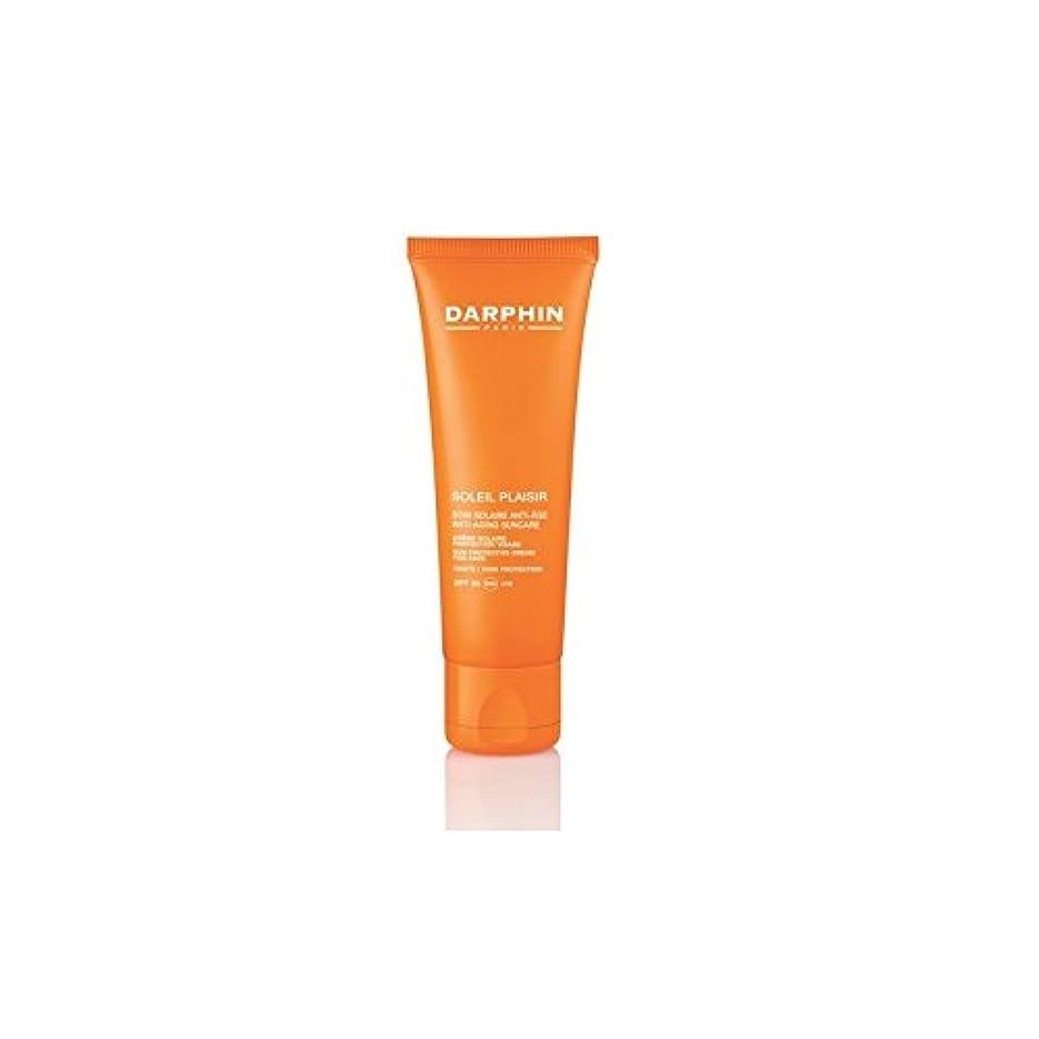 優雅な痛い欲望Darphin Soleil Plaisir For Face Moisturiser Spf50 (50ml) - 顔の保湿用50用ダルファンソレイユのプレジール(50ミリリットル) [並行輸入品]