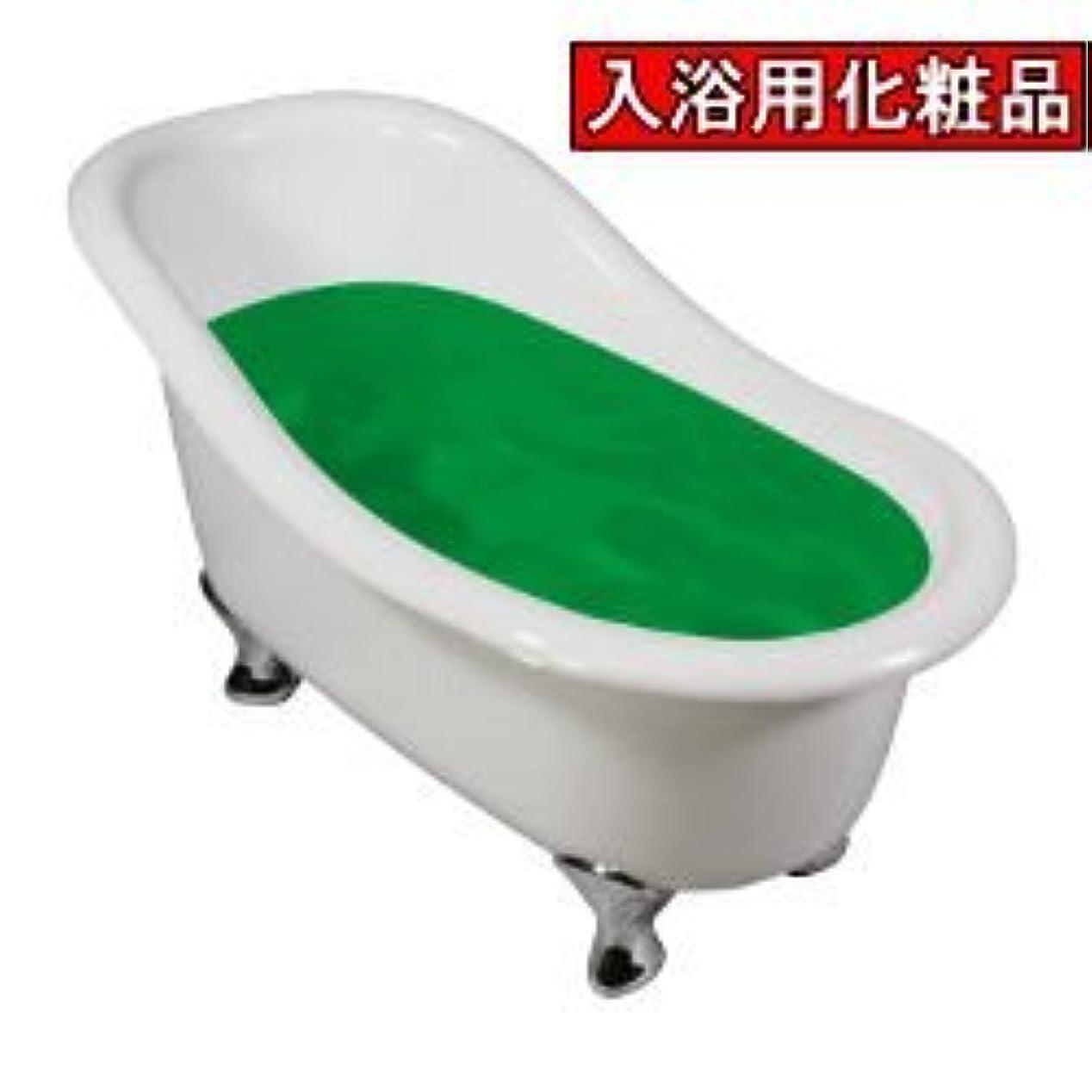 リングレット思想司令官業務用入浴剤イヴタス 緑茶 17kg 業務用サイズ