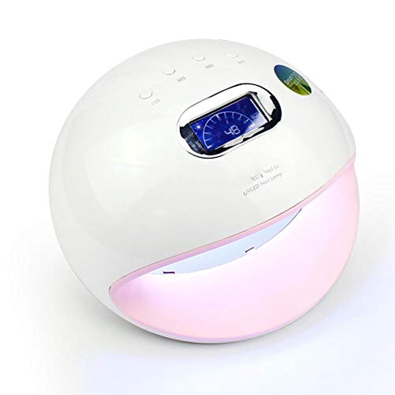 圧力霜お互いネイルドライヤーネイルライト-72W液晶デジタル4速タイミング30ランプビーズLED / UVデュアルソースネイルマシン