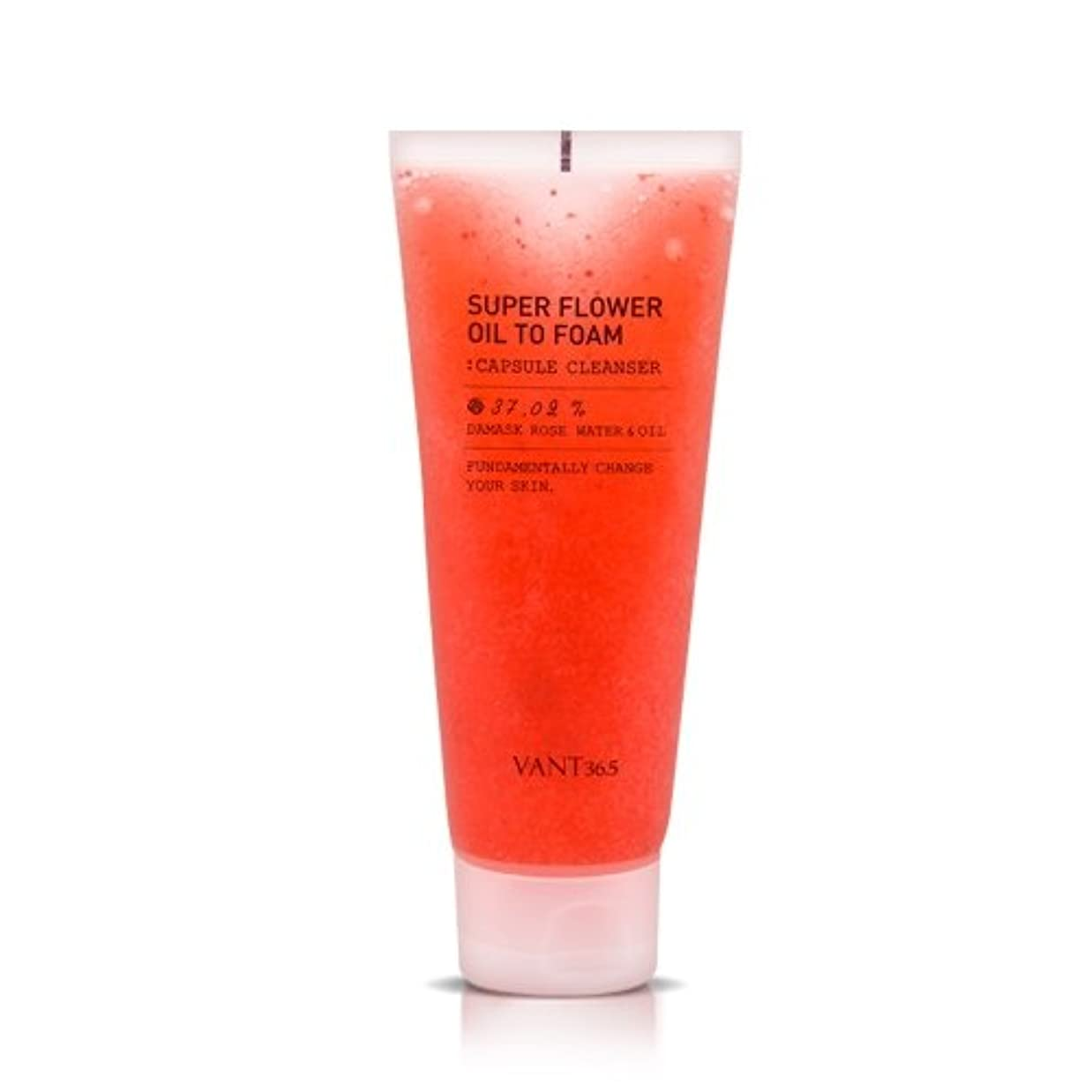 ロマンチック思いやりのある透明に[New] VANT36.5 Super Flower Oil To Foam 120ml/バント36.5 スーパー フラワー オイル トゥ フォーム 120ml [並行輸入品]
