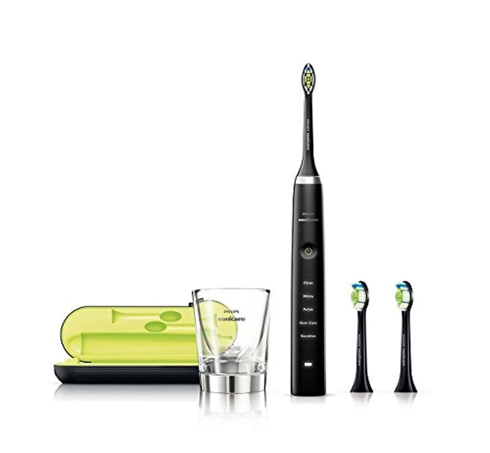 電信矛盾慢性的PHILIPS(フィリップス) 電動歯ブラシ ソニッケアー ダイヤモンドクリーン ブラック HX9313/54