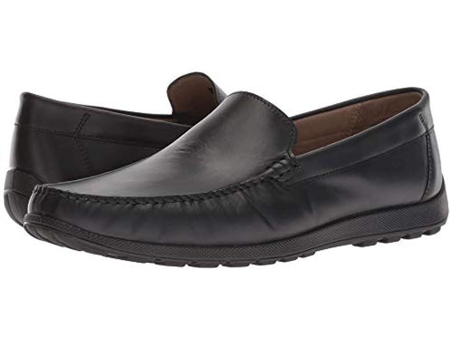 クール実証する北へ[ecco(エコー)] メンズローファー?スリッポン?靴 Dip Moc Black EU46 (US Men's 12-12.5) (29-29.5cm) M