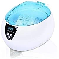 750ML Digital Ultrasonic Cleaner Ultra Sonic Bath Jewellery Watch Wave Cleaning LED Display Timer With Cleaning Basket