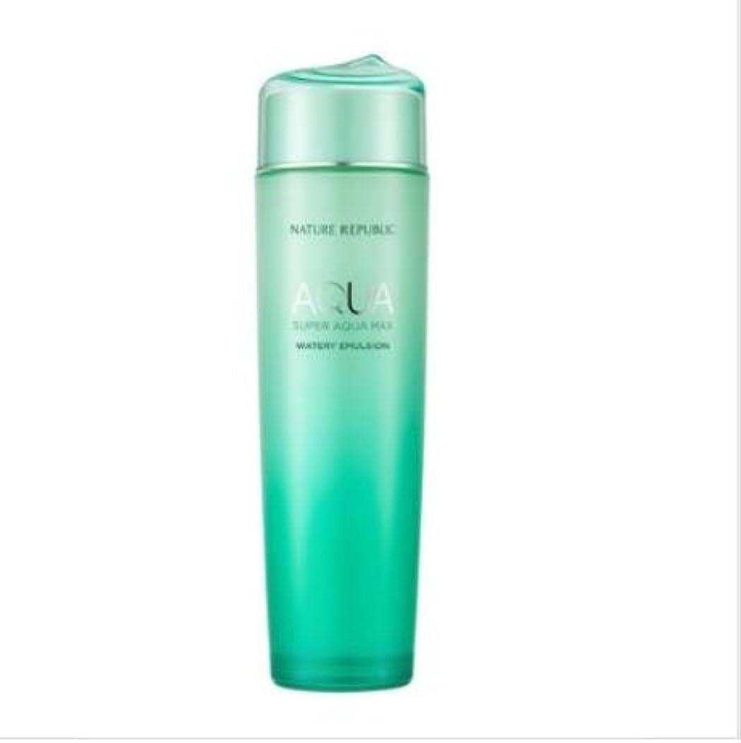 伸ばす広告する確かな[ネイチャーリパブリック] NATURE REPUBLIC [スーパー アクア マックス 水分 エマルジョン](NATURE REPUBLIC Super Aqua Max Watery Emulsion)150ml [...