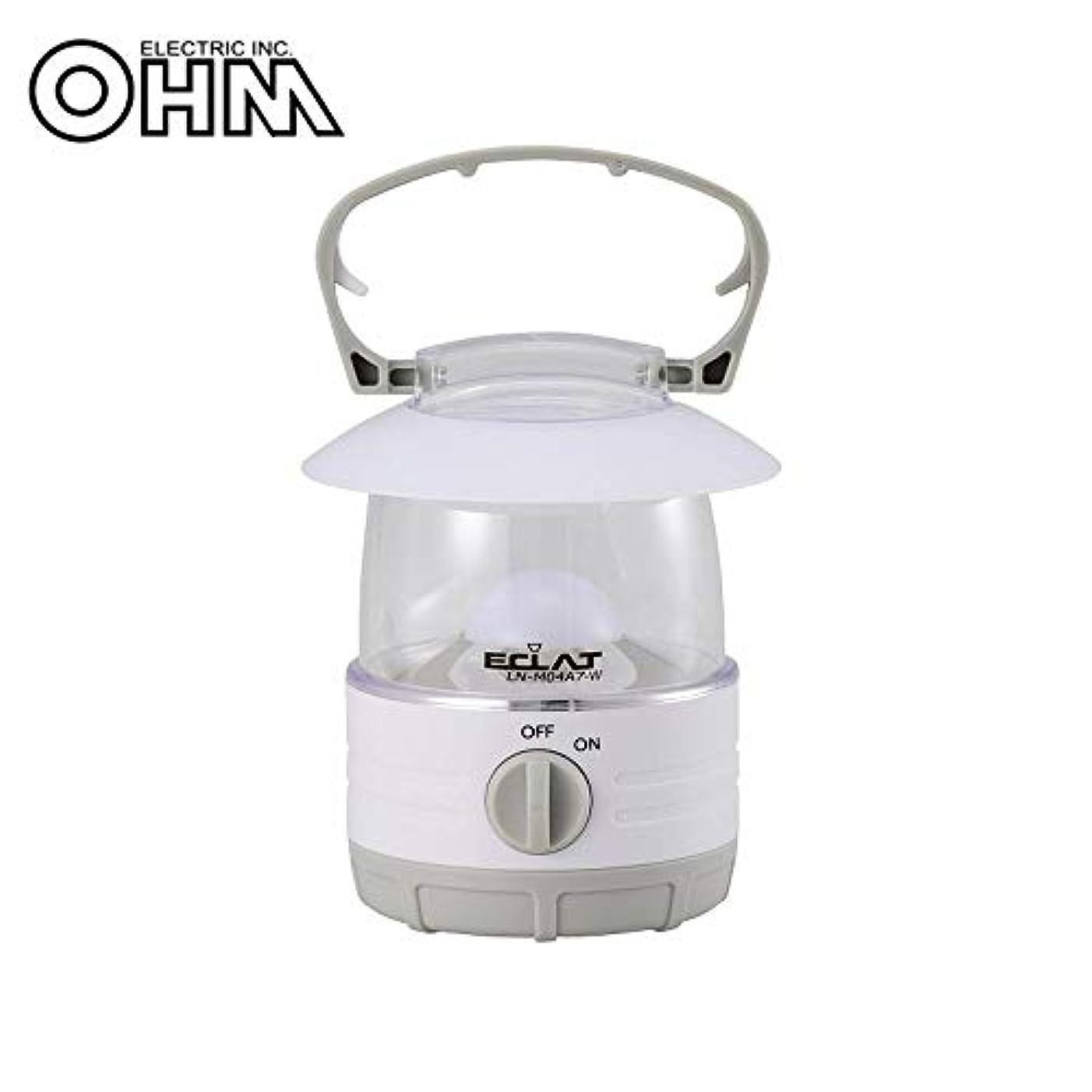 不格好音カブオーム電機 OHM LEDミニランタン 35ルーメン LN-M04A7-W