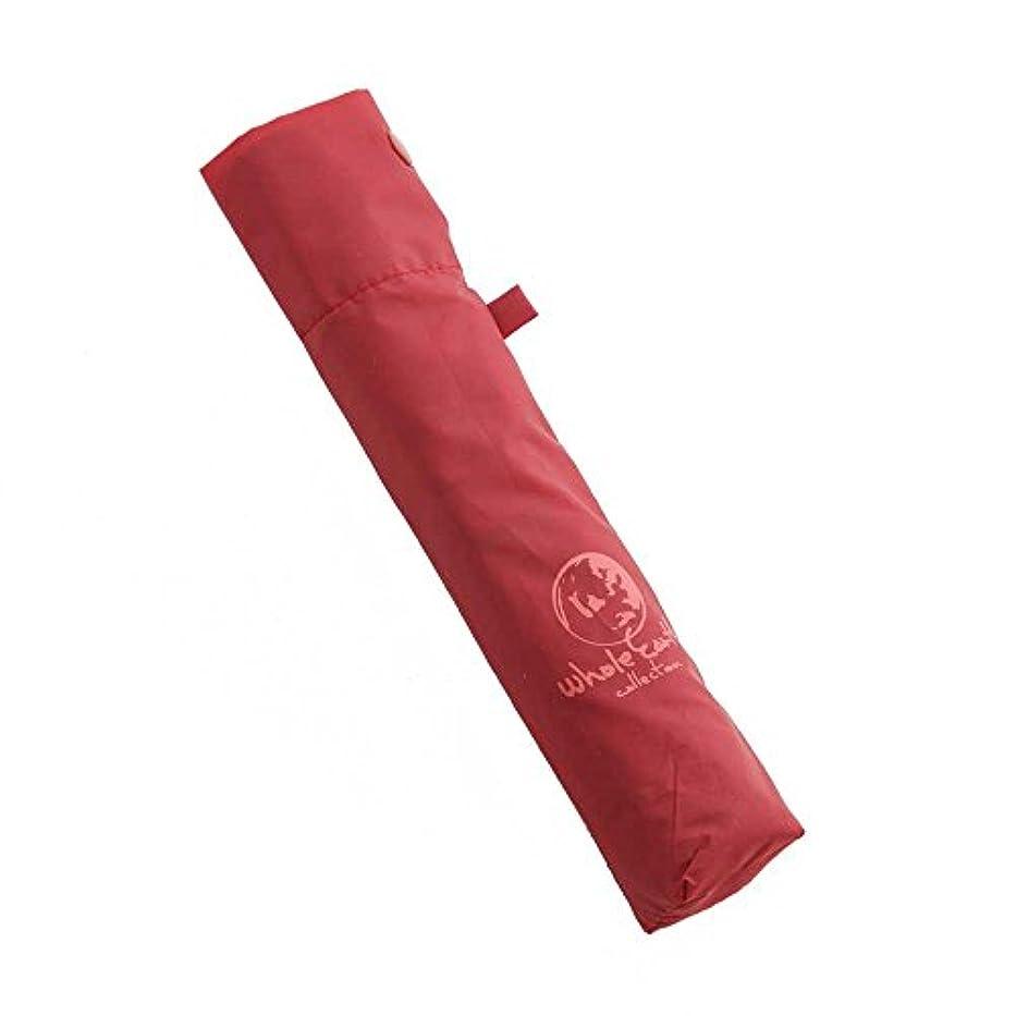 発信分解する中庭ホールアース(ホールアース) UMBRELLA 折りたたみ傘 WES17F03-7601 RED