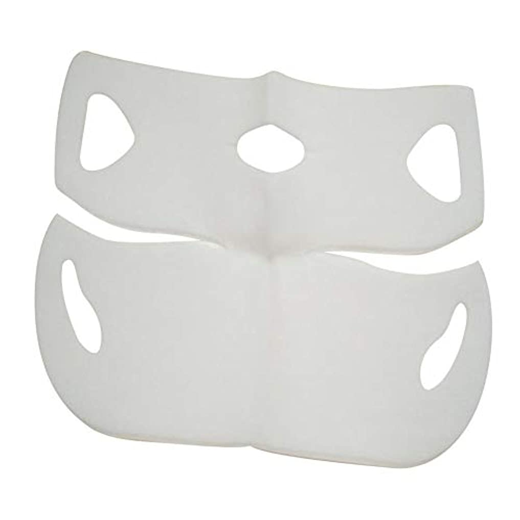 ゴミ箱市場化学SILUN 最新型 4D Vフェイシャルマスク フェイスマスク 小顔 マスク フェイスラインベルト 美顔 顔痩せ 肌ケア 保湿 毛細血管収縮 睡眠マスク