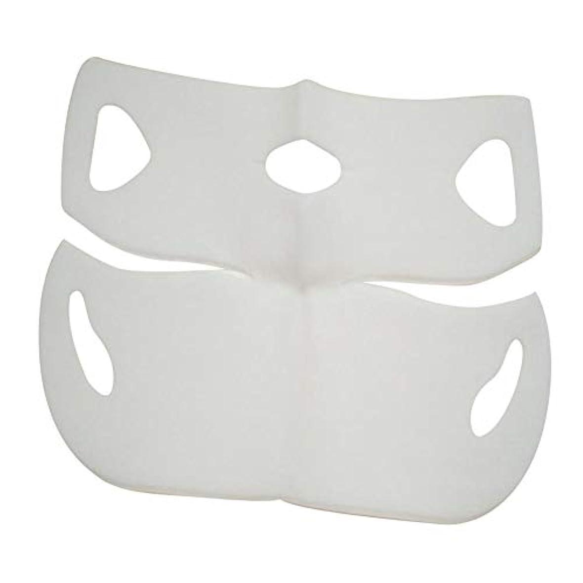 ドリンク投票スペードSILUN 最新型 4D Vフェイシャルマスク フェイスマスク 小顔 マスク フェイスラインベルト 美顔 顔痩せ 肌ケア 保湿 毛細血管収縮 睡眠マスク